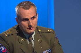 Důstojník Generálního štábu armády České republiky Otakar Foltýn