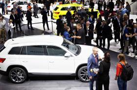 Škoda Kodiaq na pařížském autosalonu