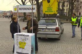 Petice za referendum v Jihlavě