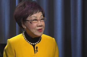 Bývalá tchajwanská premiérka Anette Lu