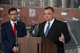 Jiří Ovčáček a Jindřich Forejt