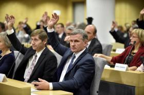 První zasedání zastupitelstva Zlínského kraje