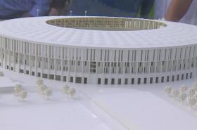 Maketa stadionu Za Lužánkami