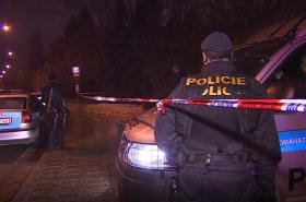Policejní zásah u arboreta
