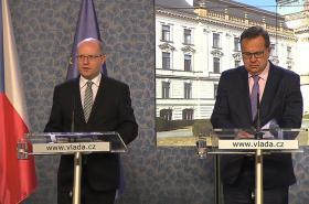 Bohuslav Sobotka a Jan Mládek