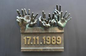 Lidé si připomínají 17. listopad 1989