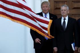 Donald Trump s generálem Jamesem Mattisem