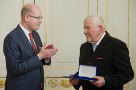 Bohuslav Sobotka a Miroslav Kusý