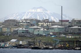 Jihokurilský ostrov Kunašir
