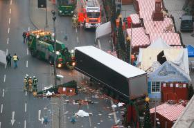 Místo útoku na náměstí Breitscheidplatz