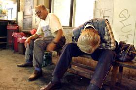 Žloutenka se začala šířit mezi bezdomovci
