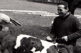 Jan Sedláček koncem 70. let, kdy na Valašsku roznášel Chartu 77