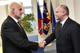 Bohumil Šimek a Michal Hašek