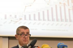 Babiš při prezentaci rozpočtu 2016
