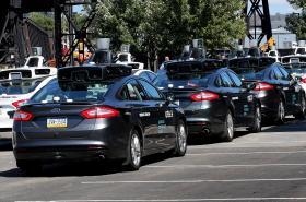 Autonomní auta Uberu