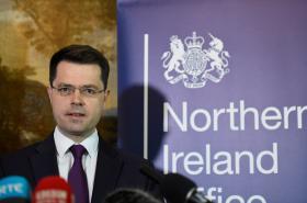 Britský ministr pro Severní Irsko James Brokenshire