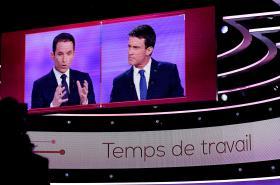 Debata před druhým kolem levicových primárek ve Francii