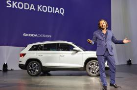 Jozef Kabaň představil loni v září v Berlíně velký SUV Kodiaq.