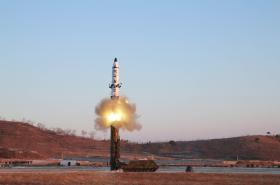 Severokorejský test rakety středního doletu