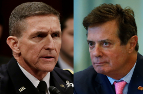 Michael Flynn a Paul Manafort