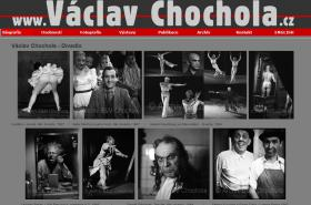 Stránky věnované Václavu Chocholovi