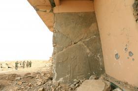 Památky v Nimrúdu poškození Islámským státem
