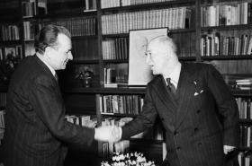 Edvard Beneš a Klement Gottwald
