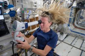 Karen Nybergová na ISS