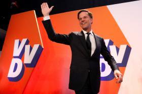 Mark Rutte po svém vítězství poděkoval voličům