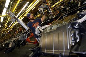 Práce na podvozku SUV od General Motors