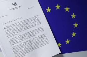 Dopis Theresy Mayové šéfovi Evropské rady Donaldu Tuskovi
