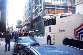 Konflikt před tureckou ambasádou řešila bruselská policie