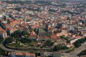 Letecké záběry Brna