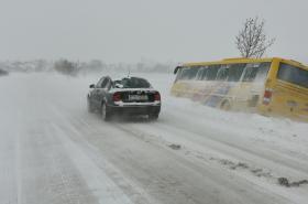 Sníh se vrátil do Česka