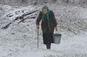 Maria Veselová z ruské obce Safonovo