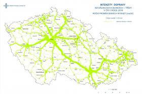 Intenzity dopravy