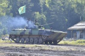 Bahna 2017: Bojové vozidlo pěchoty