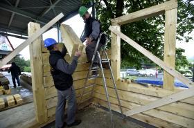 Výstavba nového Libušína