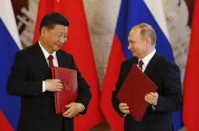 Si Ťin-pching a Vladimir Putin