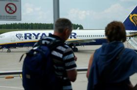 Letadlo společnosti Ryanair