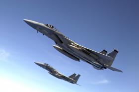 Americký stíhací letoun F-15 Eagle