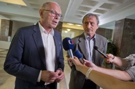 Ivan Pilný a Martin Stropnický (ANO)