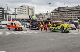 Místo útoku ve finském Turku