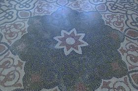 Mozaika v minaretu
