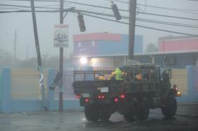 Irma zasáhla i Portoriko