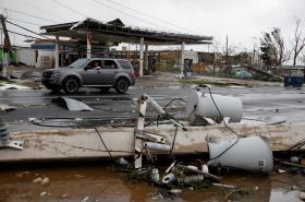 Portoriko po přechodu hurikánu Maria