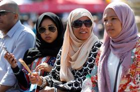 Muslimky v Londýně
