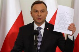 Andrzej Duda představil své úpravy soudní reformy
