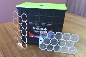 Baterie společnosti HE3DA