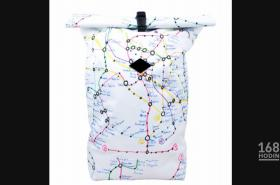 Batoh s mapou od Matěje Hoška
